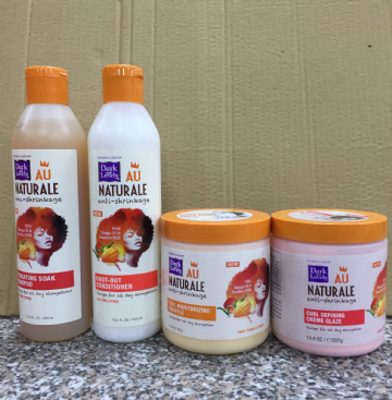 DARK & LOVELY AU NATURALE ANTI-SHRINKAGE HAIR PRODUCTS